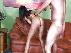 Awesome MILF gets a load