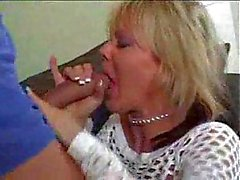He bangs the blonde milf in her hot booty
