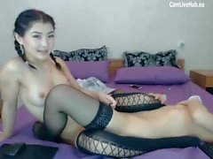 asian lesbians playing on webcam free live pt1