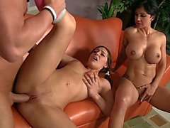 Mom watching her young daughter Gracie fucking