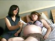 Busty Pregnant with Girlfriend BVR
