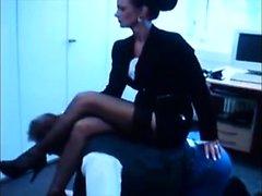 Mom Secretary Doms Boss. See pt2 at goddessheelsonlinecouk