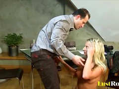 Kinky Christina pleasures in the most bizarre ways