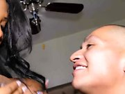 sexy chcolate mckenzie Lee fucked by her baby daddy