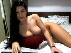 Big boobs pornstar swallow