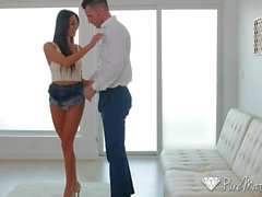 PureMature Busty MILF Anissa Kate anal fucked by energetic young dick