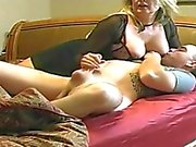 Bigtit Mom get horny with younger boy