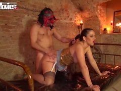 Thick German Milf takes a pounding