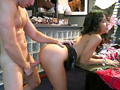 MILF in the store