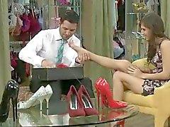 Hot Girl want a foot massage