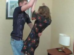 STP7 He Spies His Sexy Mom Dressing Then Gives Her A Fuck !