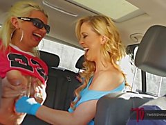 TwistedVisual - Cherie Deville and Layla Price Fuck Their Screwber Driver