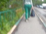 Curvy big ass girls in tight pants