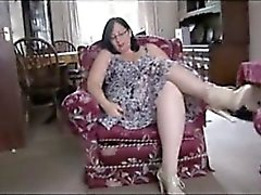 busty mature milf in pantyhose