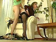 Beautiful russian milf cock riding