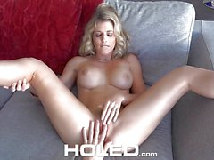 MILF Cory Chase hammered in the ass by virgin boy