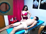 Big boobs milf Darla Crane threesome act
