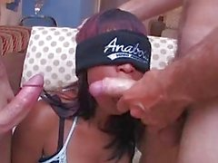 Amber Gets Fucked By Two Big Thr...