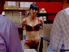 Franki the hottest MILF working slut