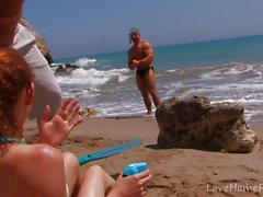 Two Horny Guys Plow Eager Ginger Milf
