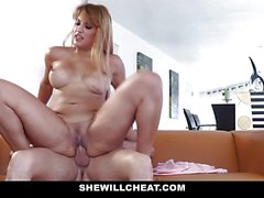 Horny Lucky Kid Fucks Hot Latina Milf