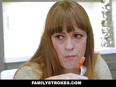 FamilyStrokes - Daddy's Girl Fucked While Mom Sleeps