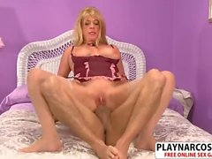 Beauty Not Step Mom Lexi Mc Cain Gives Titjob Sweet Touching Dad's Friend