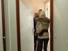 Schwester zeigt ihrem Jungfrau Stief-Bruder wie gefickt wird