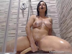 Lustful Milf Fucks Her Nasty Ass With A Dildo