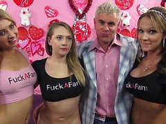 Big boobs girlfriend enjoys hardcore sex