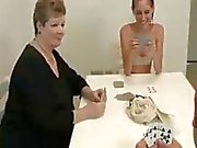 Teen And Mom Busting The Nut Of The Neighbor Boy