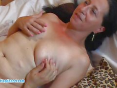 Chubby MILF enjoys a good deep cock