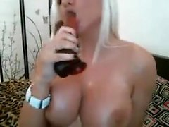 Busty hot milf solo pussyplay