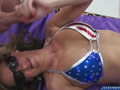 All American MILF Handjob