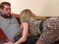 Hot mom Brandi Love gets her hands on her horny stepson