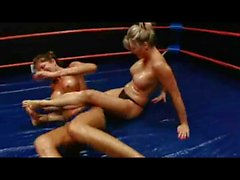 Mature Oil Wrestling
