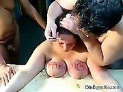 Painful Treatment big slutty Tits Sub Jenna