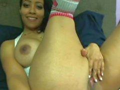 Solo brunette milf masturbation webcam porn