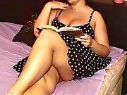 sexy chubby having nice sex
