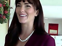 Classy realtor fucked during house inspection