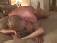 Naughty brunette milf gets banged very hard