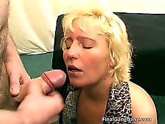 Hot nasty big boobed MILF slut have