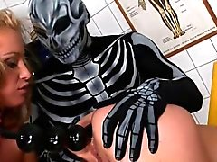 Fetish girls in latex using bdsm dildos