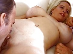 Wild BBW Blonde Housewife