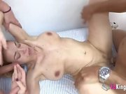 2 Spanish MILFs and three young guys ready to be deflowered