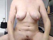 Hot Blonde Posing Toying