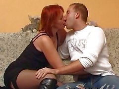 Dirty milf doggyfucked in her stockings