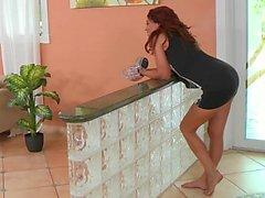 Redhead Milf babe Esmeralda Payne