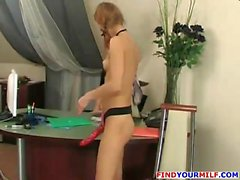 Russian Amateur Mom Goes Wild 19