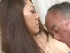 Ruri Hayami enjoys her uncle fucking her